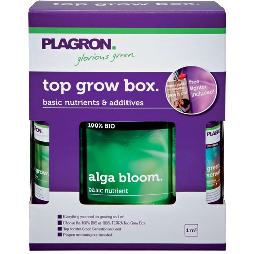 Top grow Box 100% Bio  () PLAGRON