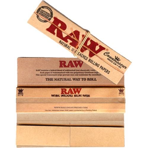 RAW Connoiseur King  Size Slim 1 uds  ()